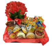 Cesta Matinal Gourmet Premium