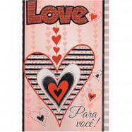"""Cartão """"Love para você!"""""""