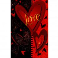 """Cartão """"Love, Você me faz feliz"""""""