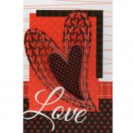 """Cartão """"Love, A cumplicidade o carinho..."""""""