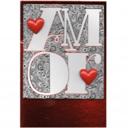 """Cartão """"O Amor.."""""""