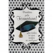 """Cartão """"Parabéns pela Formatura!"""""""