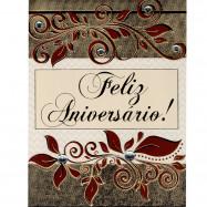 """Cartão """"Feliz Aniversário! Que você possa Celebrar todos os dias..."""""""