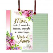 Cartão Tag Mãe é Amor