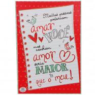 Caixa Cartão Quebra-Cabeça Amor Maior