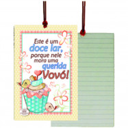 Cartão Tag Querida Vovó