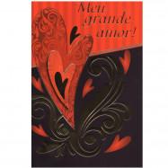 """Cartão """"Meu grande amor"""""""