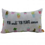 """Almofada P """"Plante Amor"""""""