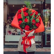Buquê Apaixonado por você! (12 Rosas)