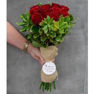 Buquê Requinte ( 24 rosas)