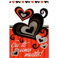 """Cartão """"Te Amo Muito!"""""""