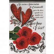 """Cartão """"Nosso Aniversário de Casamento"""""""