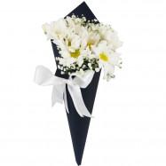 Cone com Flores