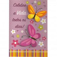 """Cartão """"Celebre a Vida Todos os Dias!"""""""