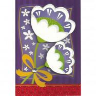 """Cartão """"Que Você Sinta a Alegria que Vem do Coração"""""""