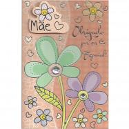 """Cartão """"Obrigado Mãe!"""""""