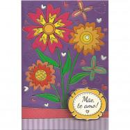 """Cartão """"Mãe, te amo!"""""""