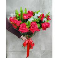 Buquê Amor em Flor (12 Rosas)