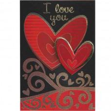 """Cartão """"I Love You"""""""