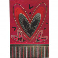 """Cartão """"Love"""""""