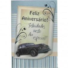 """Cartão """"Feliz Aniversário!"""""""