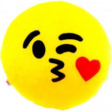Almofada Emoji Beijo Apaixonado G