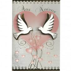 """Cartão """"Aos Noivos ♥"""""""