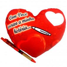 """Coração P """"Com Você Escrevo a Minha História"""""""