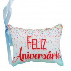 Almofada Mini Feliz Aniversário!