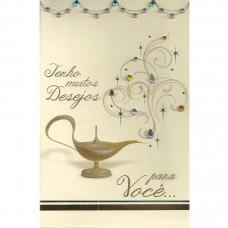 """Cartão """"Tenho Muitos desejos para você..."""""""