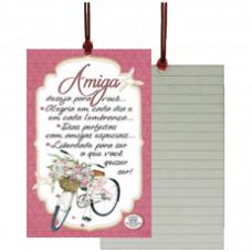 Cartão Tag Amiga