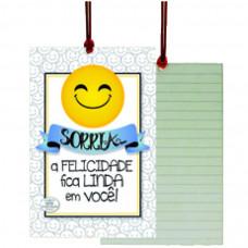 Cartão Tag Sorria
