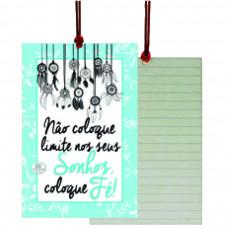 Cartão Tag sonhe alto