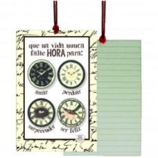 Cartão Tag Hora Para Ser Feliz