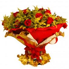 Buquê Italiano Rosas Vermelhas