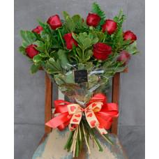 Buquê Sintonia da Paixão (12 Rosas)
